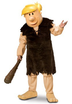 Mascot Barney Rubble Costume