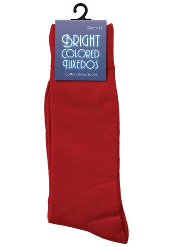 Men's Red Socks