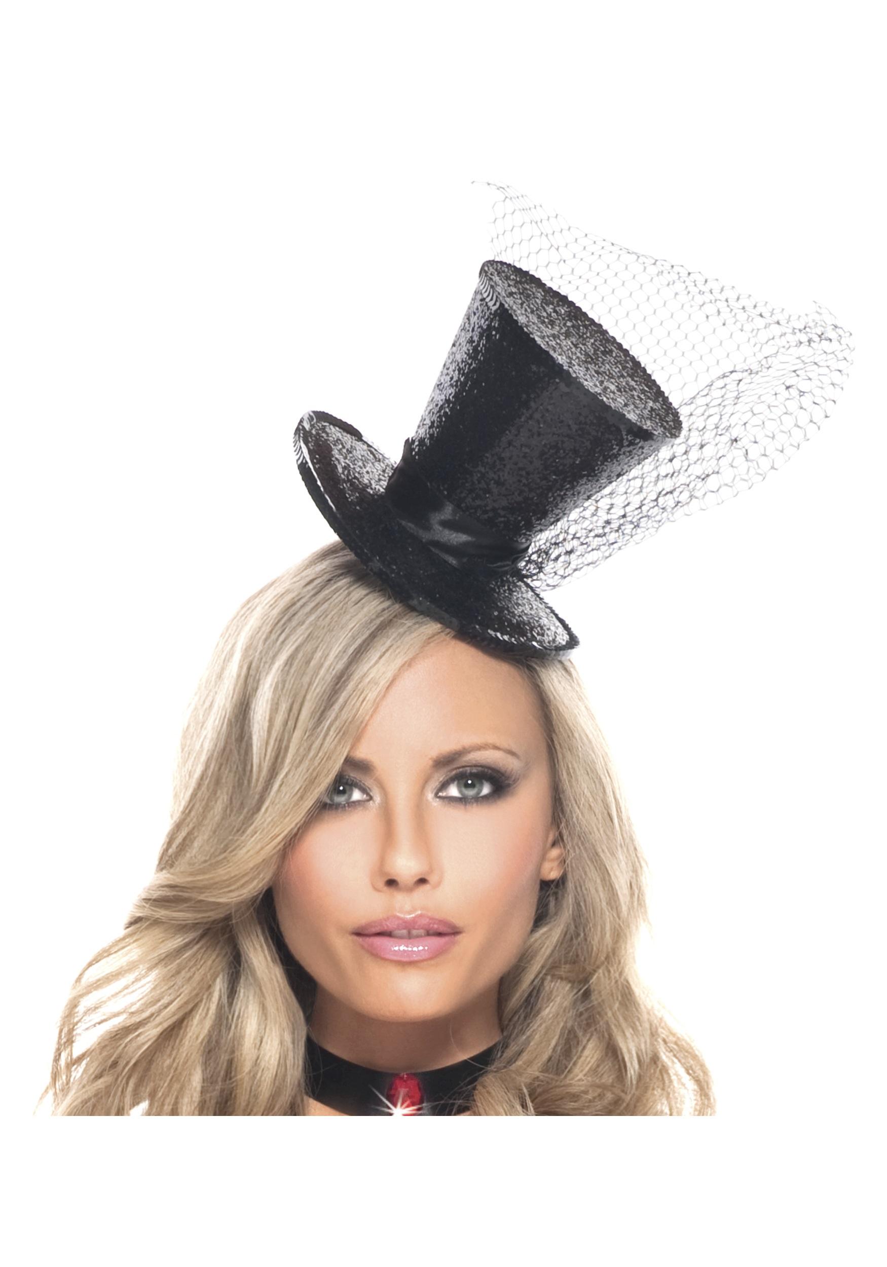 Mini Glitter Top Hat adb3a67a580