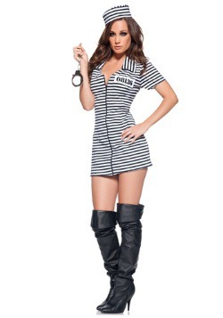 Miss Behaved Prisoner Costume