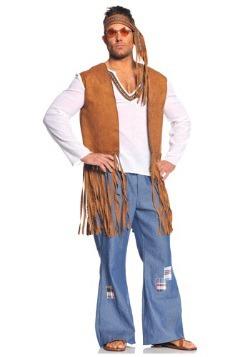 Plus Right On Hippie Costume