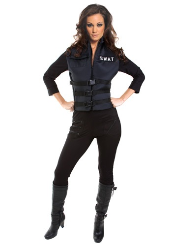 Sexy SWAT Girl Costume