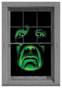Green Demon Window Cling