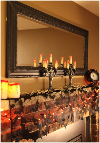 Black 4 Way Decoration