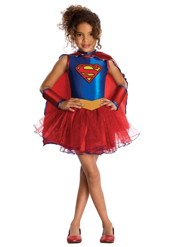 Kids Supergirl Tutu Costume