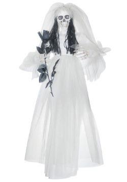 Hanging Bride w/ Black Rose