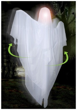 Hanging Rotating Ghost