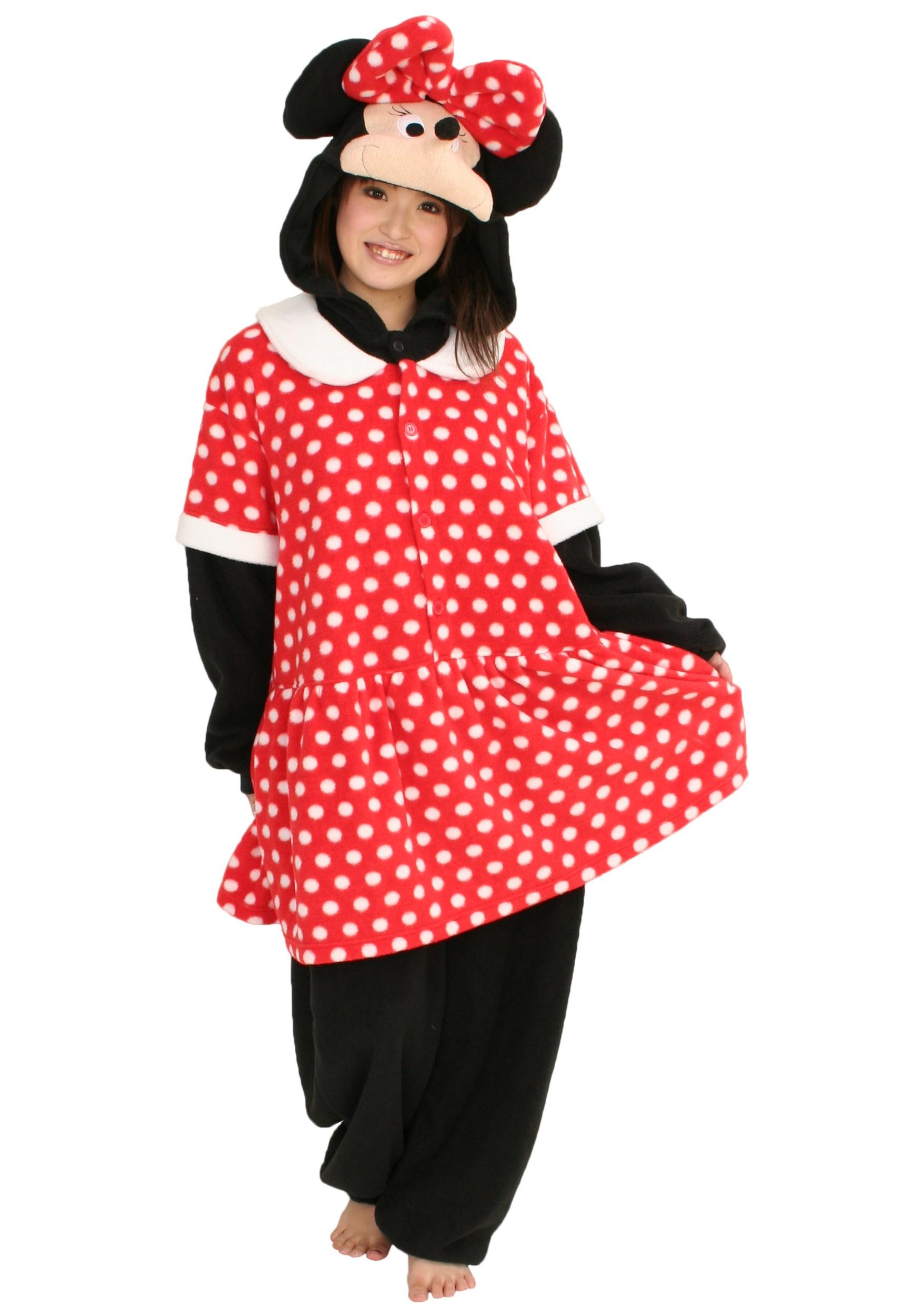 313feceae94d Minnie Mouse Pajama Costume