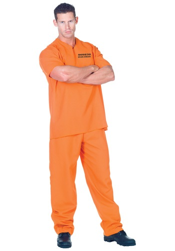 Plus Public Offender Inmate Costume