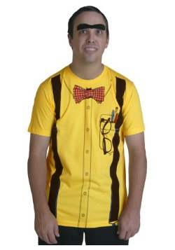 Classic Yellow Nerd T-Shirt
