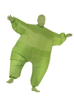 Green Man Inflatable Costume