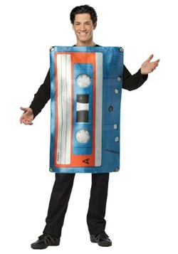 Adult Cassette Tape Costume