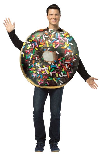 Adult Get Real Doughnut Costume