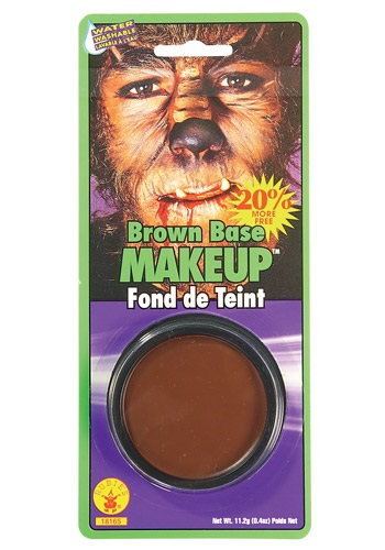 Brown Face Paint