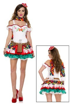 Womens Tequila Princess Costume