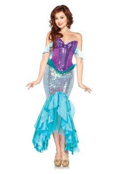 Womens Disney Deluxe Ariel Costume