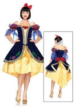 Womens Disney Deluxe Snow White Costume