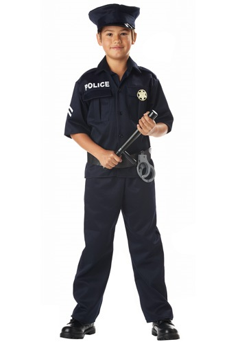 Kid's Police Costume