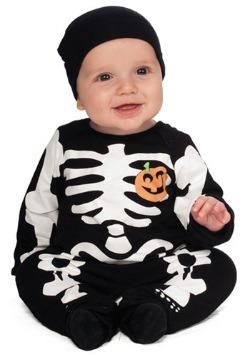 Infant Black Skeleton Costume