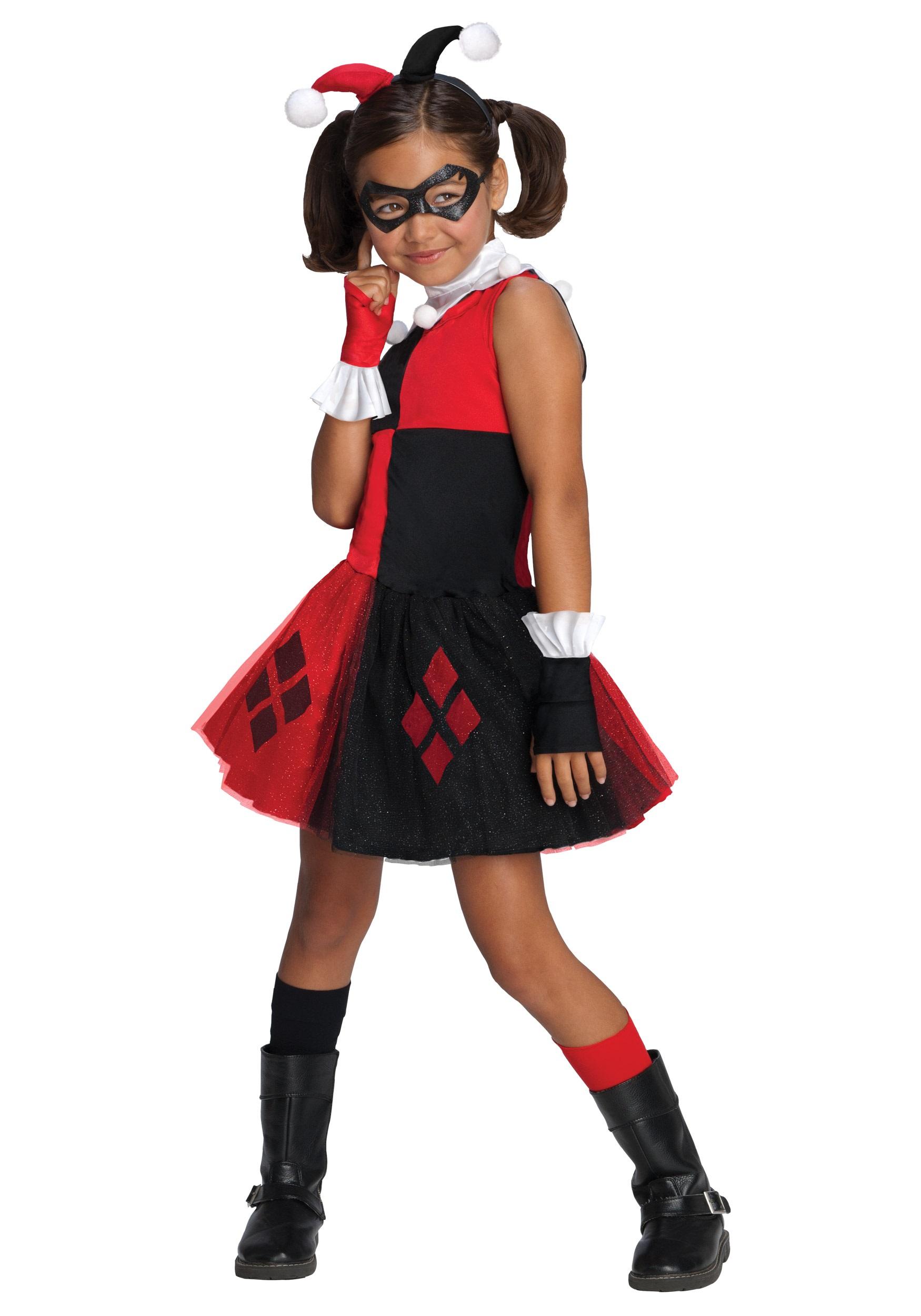 47a58062c3b Girls Harley Quinn Tutu Costume
