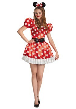 Plus Size Red Minnie Classic Costume