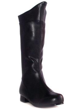 Boys Black Superhero Boots