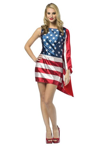 Womens Flag Dress