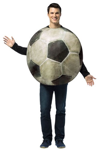 Adult Get Real Soccer Costume