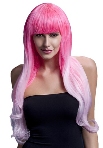 Fever Emily Pink Two Tone Wig