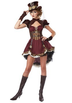 Adult Steampunk Lady Costume