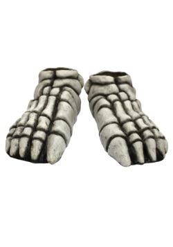 Adult Skeleton Feet White