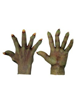 Adult Evil Green Hands