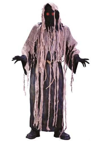 Adult Light Up Gauze Zombie Costume