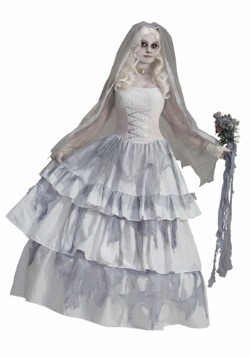 Victorian Ghost Bride Costume