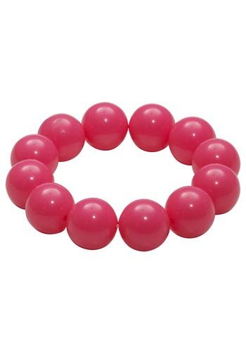 80's Pink Gumball Bracelet