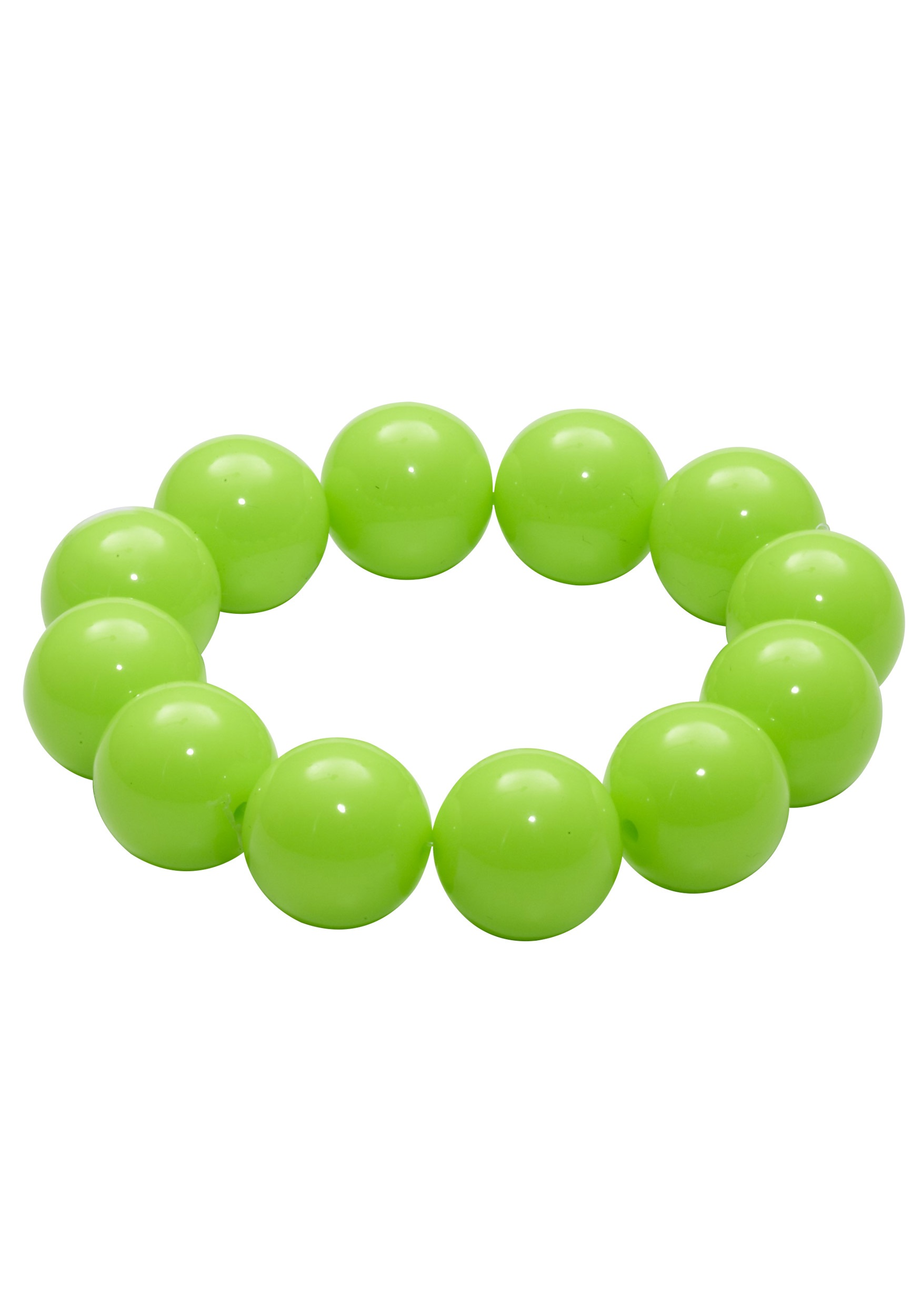 INOpets.com Anything for Pets Parents & Their Pets 80's Green Gumball Bracelet