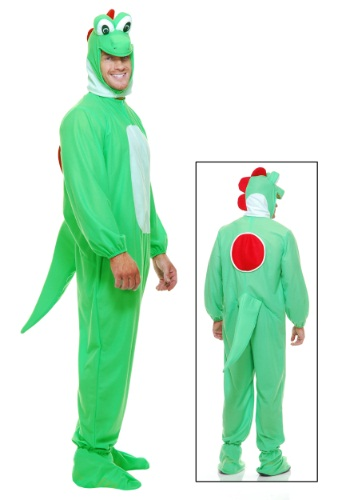Adult Green Dragon Costume Front