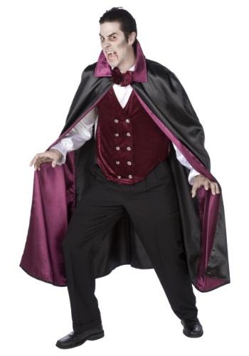 Mens Deluxe Vampire Costume