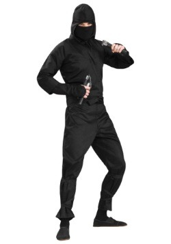 Deluxe Plus Size Ninja Costume