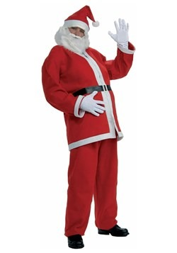 Plus Size Simply Santa Costume Front