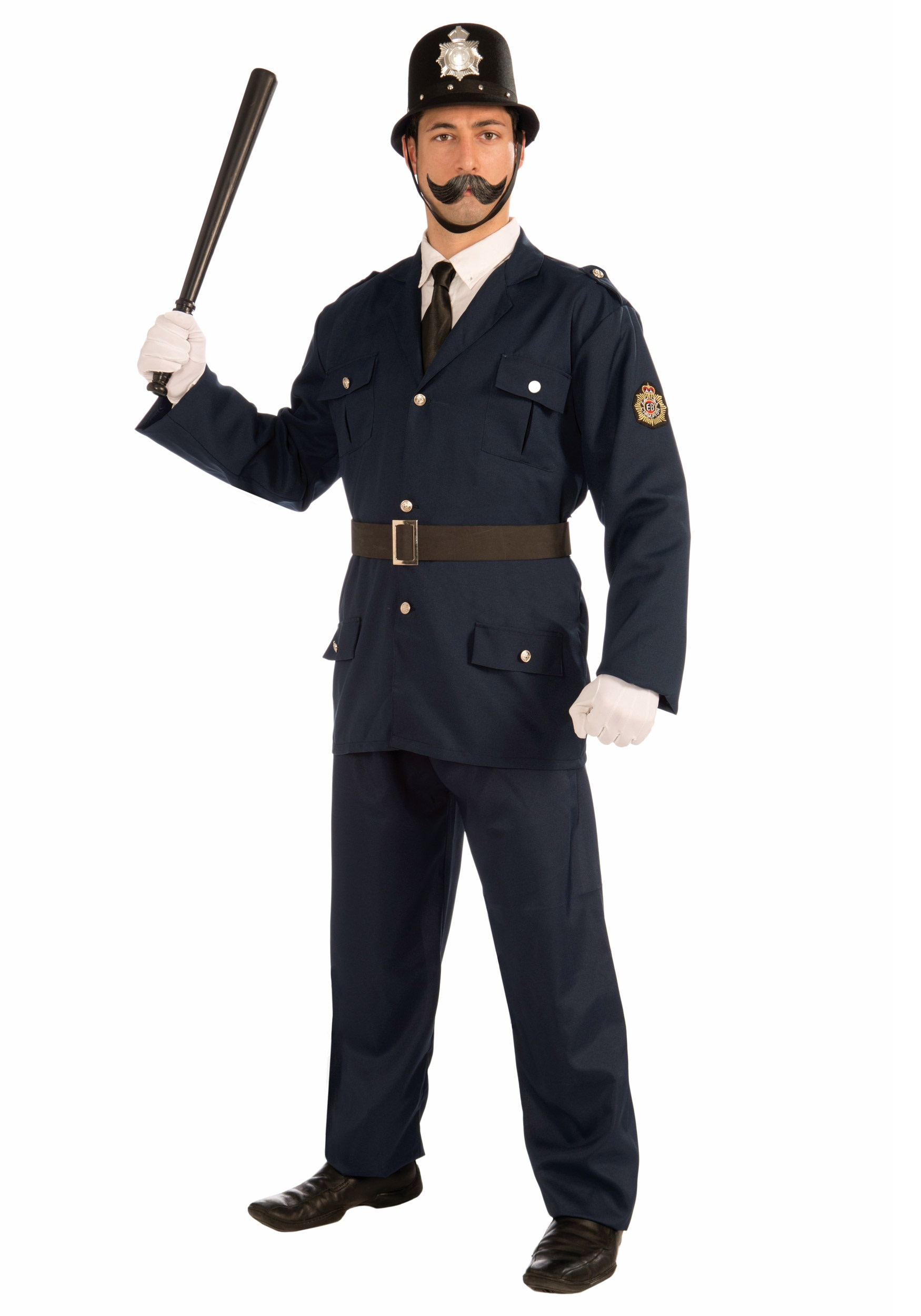 Keystone Cop Fancy Dress Costume