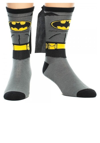 Batman Cape Crew Socks