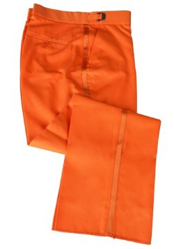 Orange Tuxedo Pants