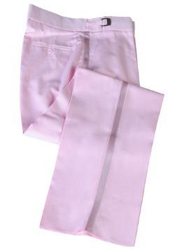 Pink Tuxedo Pants