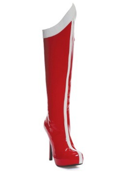 Red and White Superhero Boots
