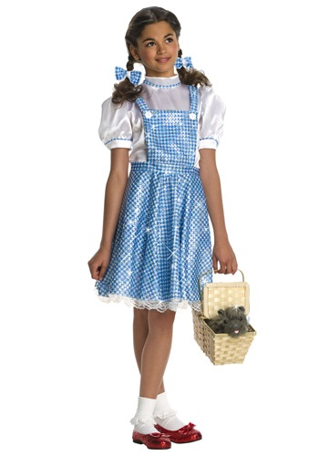 Kids Sequin Dorothy Costume