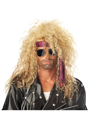 Blonde Heavy Metal Wig
