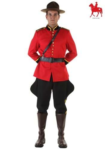 RCMP Men's Canadian Mountie Costume