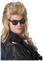 80s Blonde Rock Mullet Wig