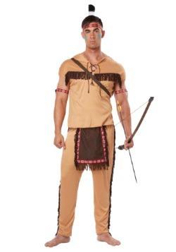 Adult Native American Brave